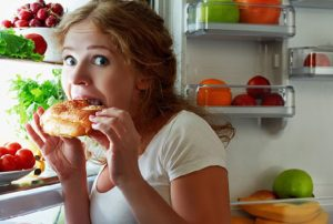 Working at home - Be careful with snacking